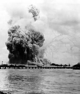 USS Mount Hood Explosion