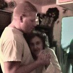 Jason dancing with Mom 1-1-13