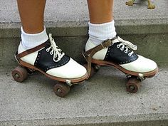 Wearing Skates