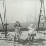 Sisters on the Swings