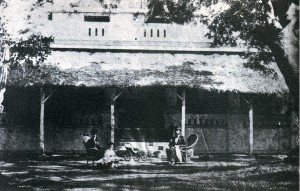 Home of Rev & Mrs L L Uhl in India