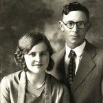 Nettie & Bob Knox - wedding picture