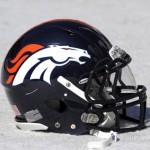 Devner Broncos helmet