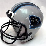 Panthers helmet