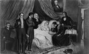 Death of Harrison