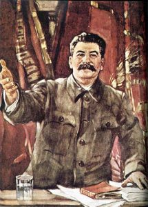 Stalin, not one step backward
