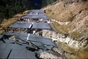 Hebgeb Lake Montana Earthquake Aug 1959