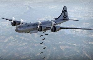 b-29-bomb-run