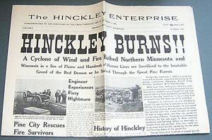 Hinckley fire news