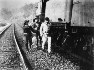 first-train-robbery