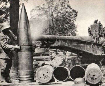 the pariskanonesuccess to reproduce the gun from the few pictures and diagrams that remained copies were deployed in 1940 against britain across the english channel,