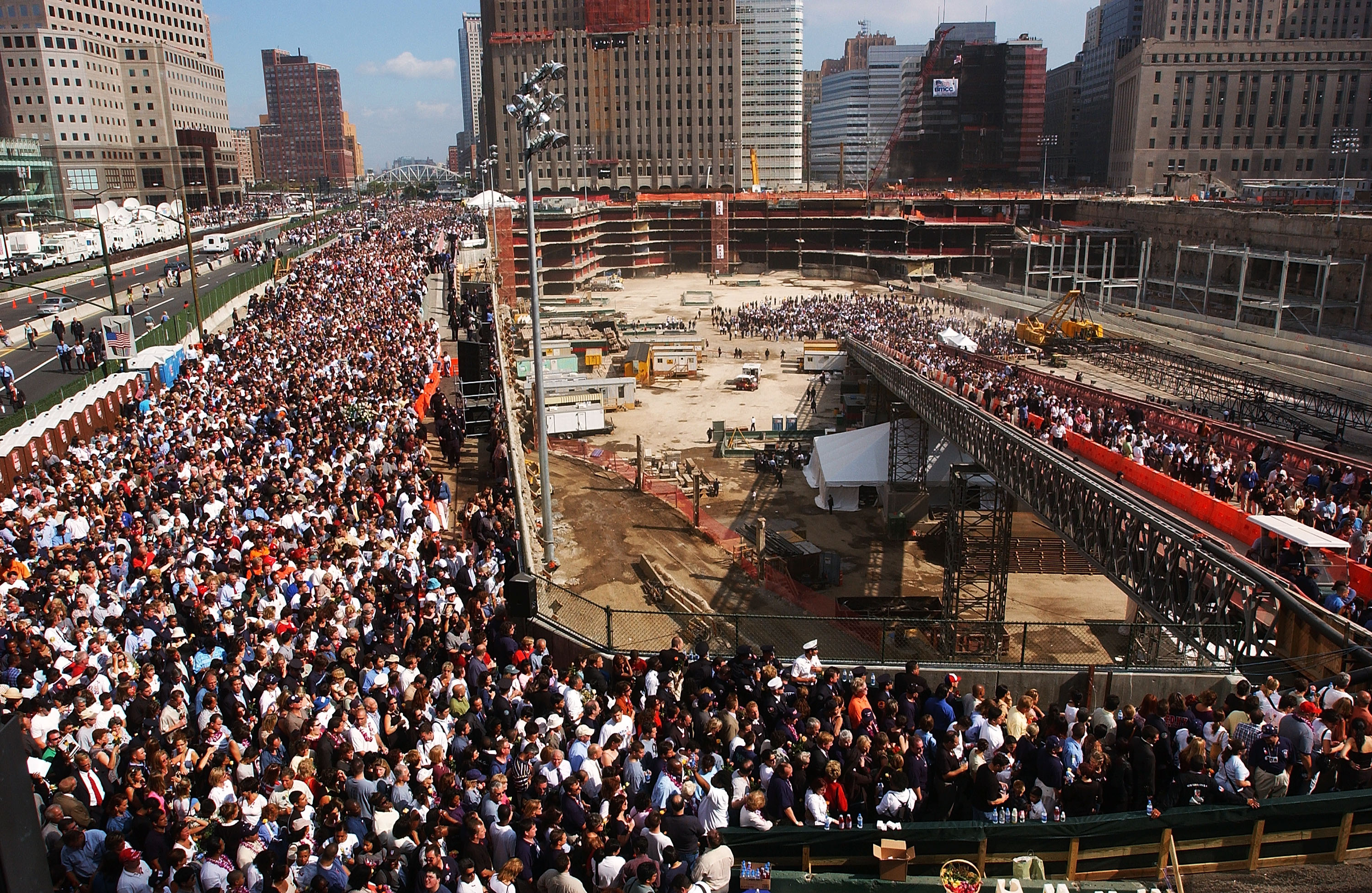 Image result for 911 cleanup ends in new york ground zero